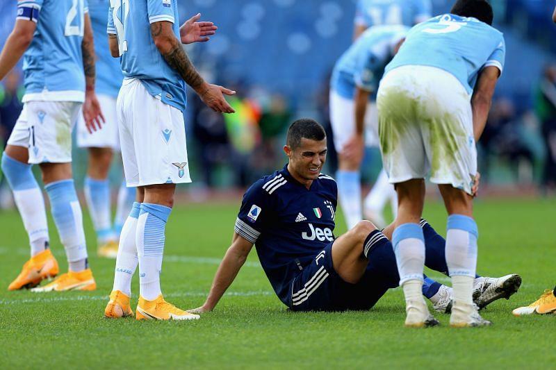 Cristiano Ronaldo against Lazio