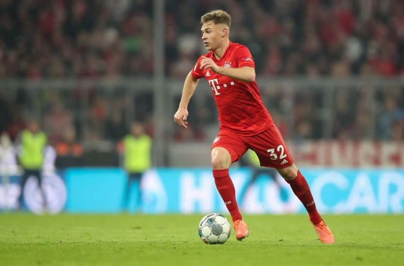 Joshua Kimmich has made the midfield role his own at Bayern Munich.