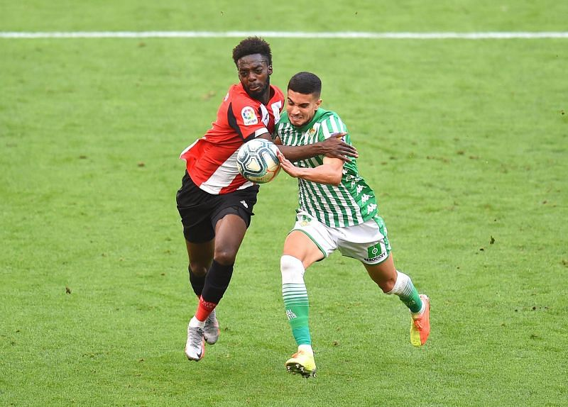 Athletic Club and Real Betis battle it out in La Liga