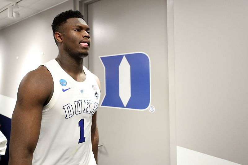 Zion Williamson was the first pick in the 2019 NBA Draft.
