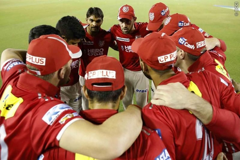 The KXIP dugout has often been a despondent one, as they were knocked out again. [PC: iplt20.com]