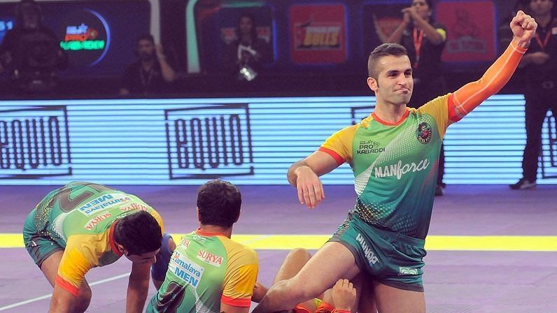Fazel Atrachali was Patna Pirates