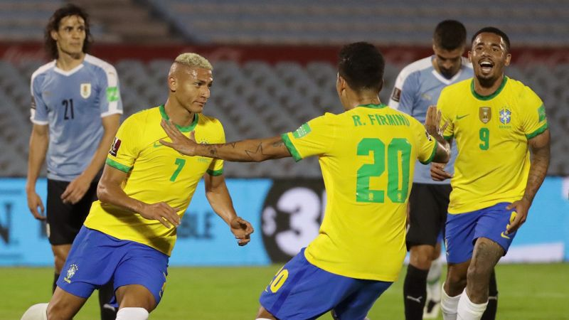 Uruguay 0-2 Brazil: 5 talking points as Copa America champions continue  perfect start | 2022 FIFA World Cup qualifiers