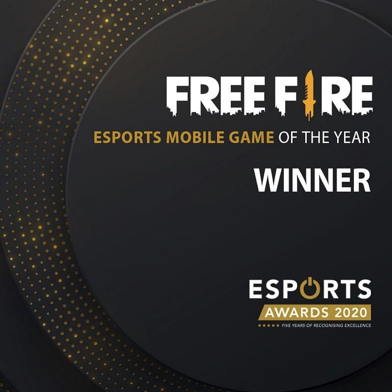 Free Fire won an impressive gong at the Esports Awards 2020