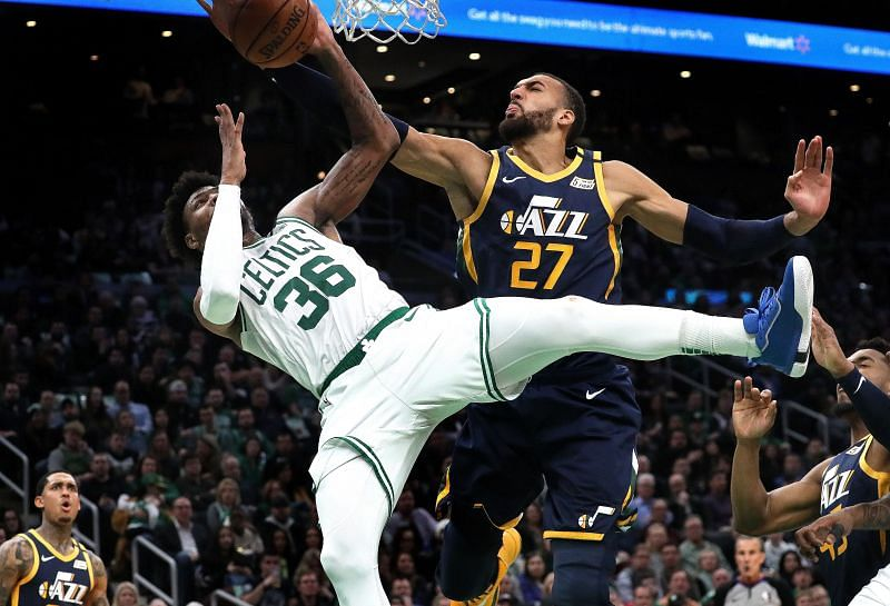 Rudy Gobert vs Boston Celtics