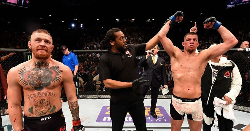 Nate Diaz famously submitted Conor McGregor with less than two weeks notice at UFC 196.