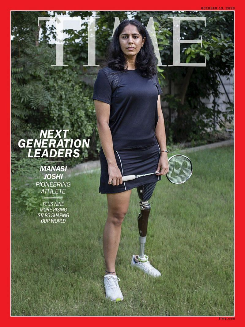 Manasi Joshi on the TIME Magazine cover
