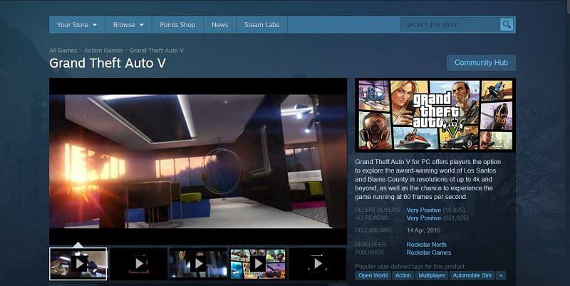 GTA 5 on Steam