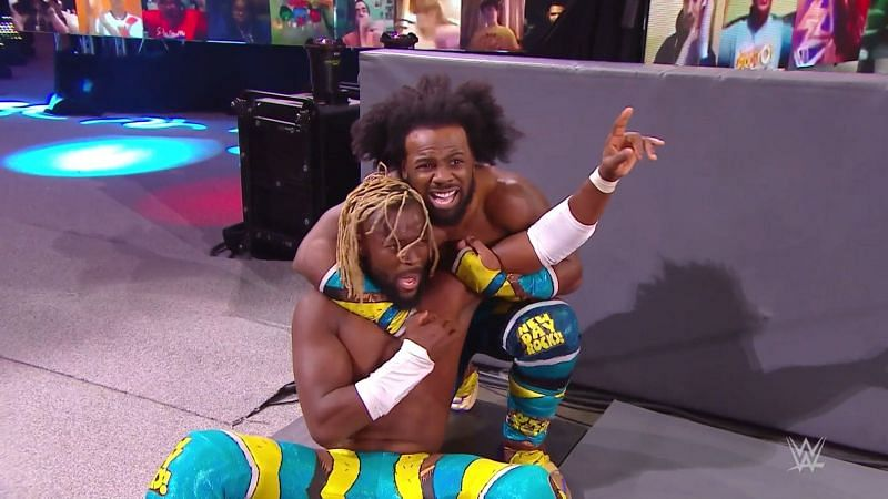 Kofi Kingston and Xavier Woods, The New Day