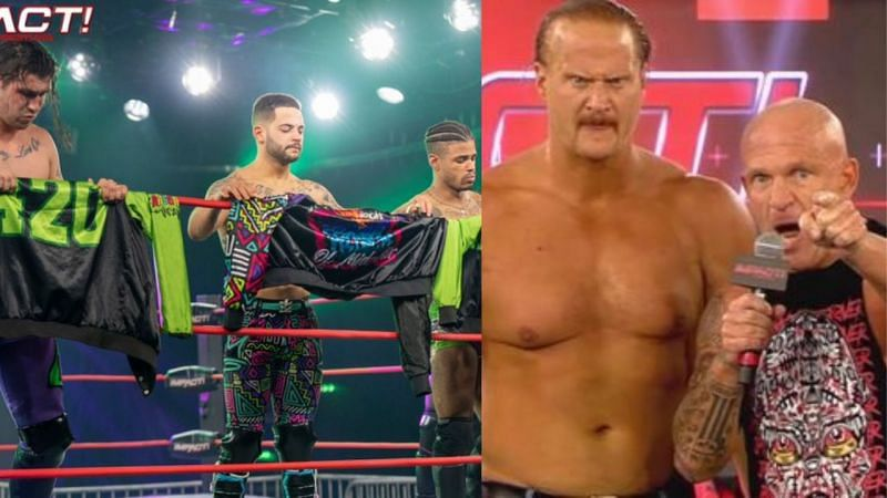 The Rascalz bid farewell; Eric Young and Joe Doering put IMPACT Wrestling on notice