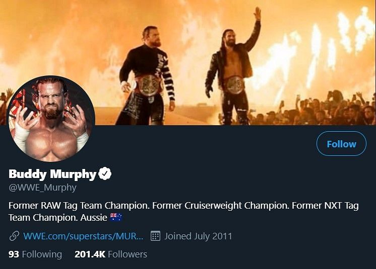Buddy Murphy is back again?
