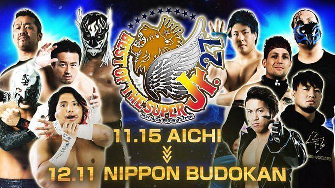 NJPW announces the ten entrants for the Best of Super Juniors 27 tournament.