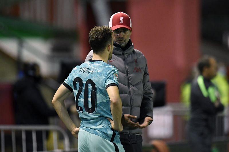 Jurgen Klopp will be tempted to use Jota against City.