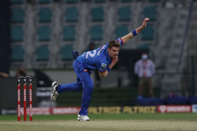 Anrich Nortje has stood out for the Delhi Capitals with his express pace [P/C: iplt20.com]
