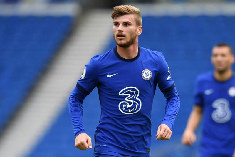 Timo Werner is starting to find his feet in the Premier League