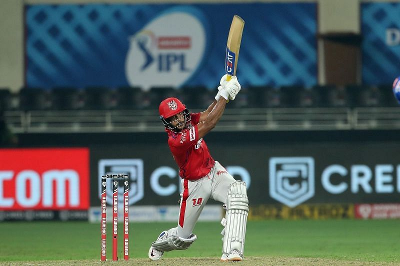 Mayank Agarwal was the aggressor at the top for Kings XI Punjab in IPL 2020 [P/C: iplt20.com]