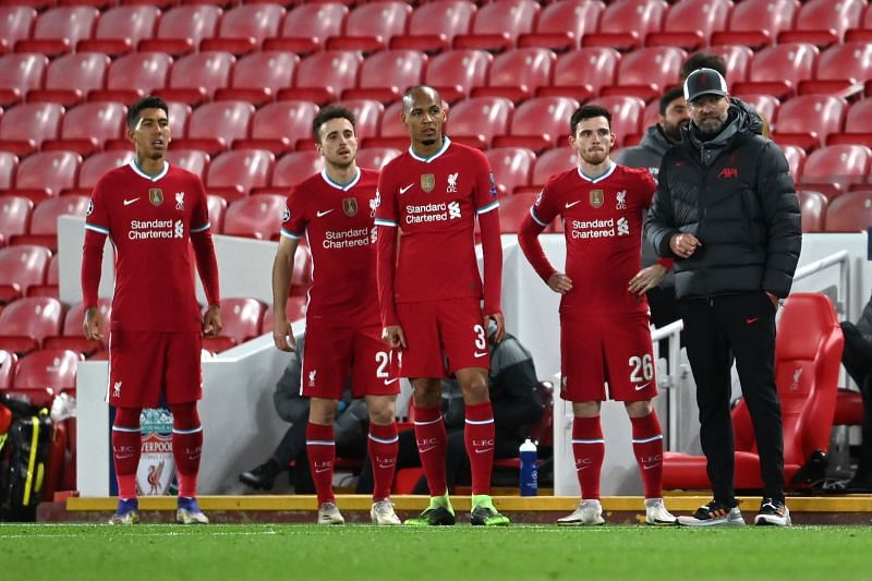 Liverpool rung the changes but lost 2-0 to Atalanta in the UEFA Champions League on Wednesday