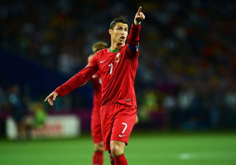 Cristiano Ronaldo of Portugal reportedly wants Angel di Maria at Juventus