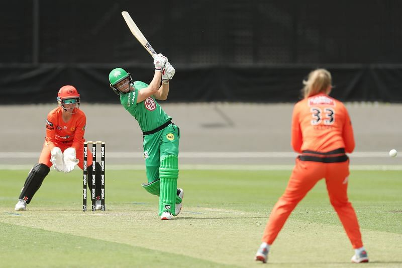 Meg Lanning in action for the Melbourne Stars in WBBL 2020