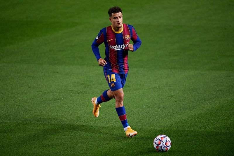 Coutinho in action