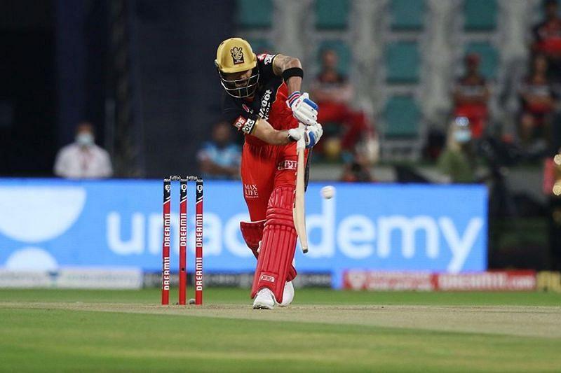 Virat Kohli was unable to dominate proceedings with the bat. [PC: iplt20.com]
