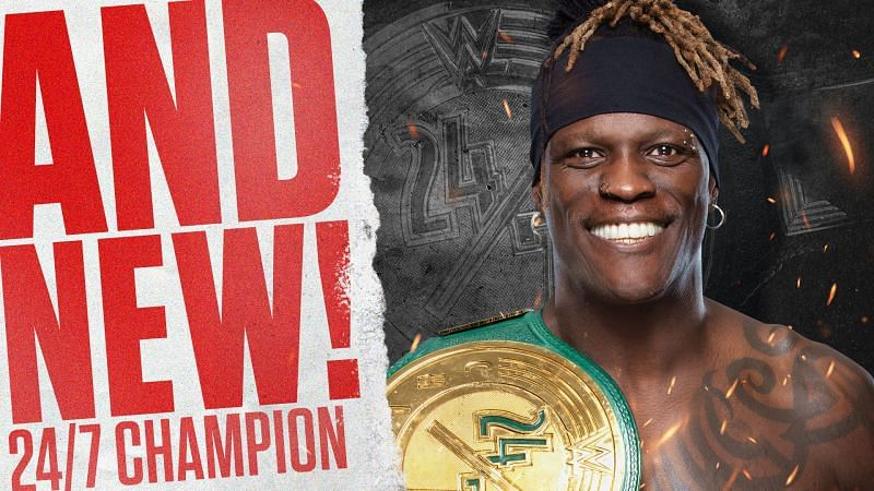 Hurt Business plays big role as R-Truth becomes WWE 24/7 Champion again