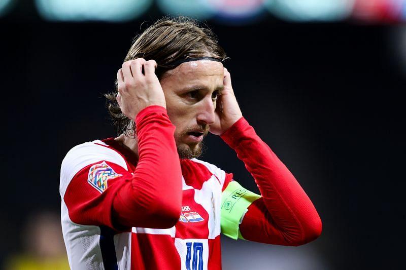Croatian icon Luka Modric