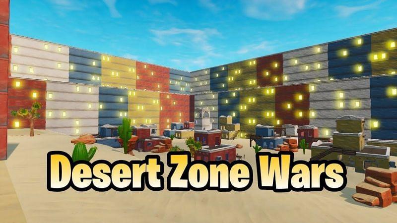 desert zone wars map