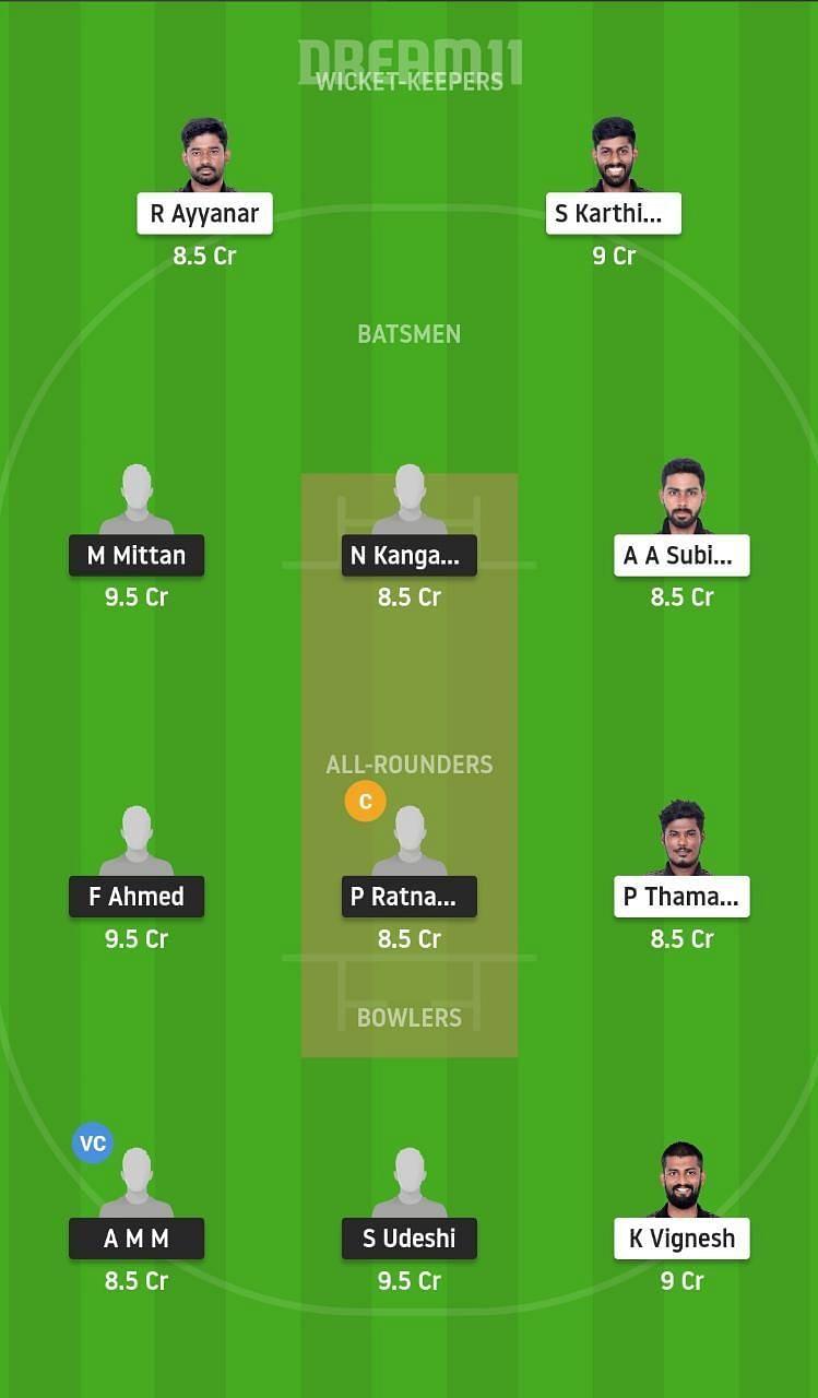 Pondicherry T20 tournament: TUS vs LIO Dream11 Tips