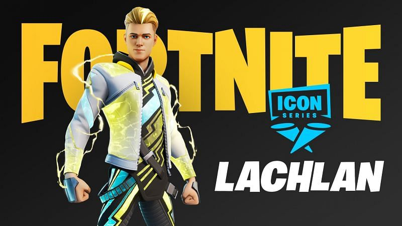 Lachlan is the newest content creator to get his Fortnite Icon series cosmetic in the game (Image via Lachlan/Twitter)