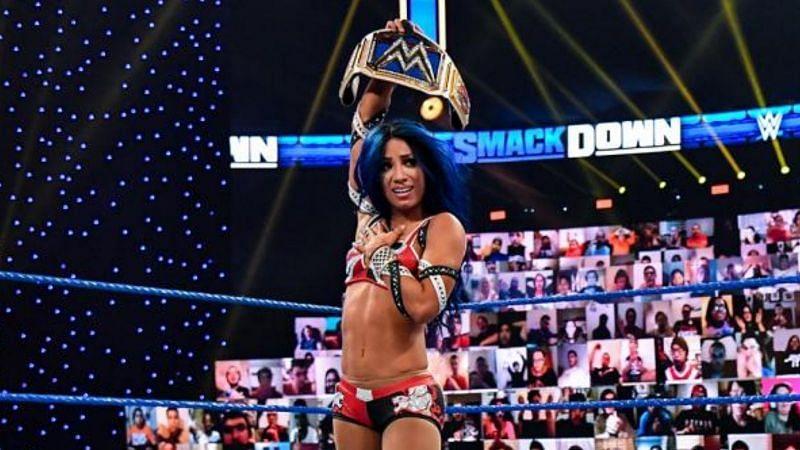 Why Sasha Banks Wasn't Present On WWE Smackdown 2