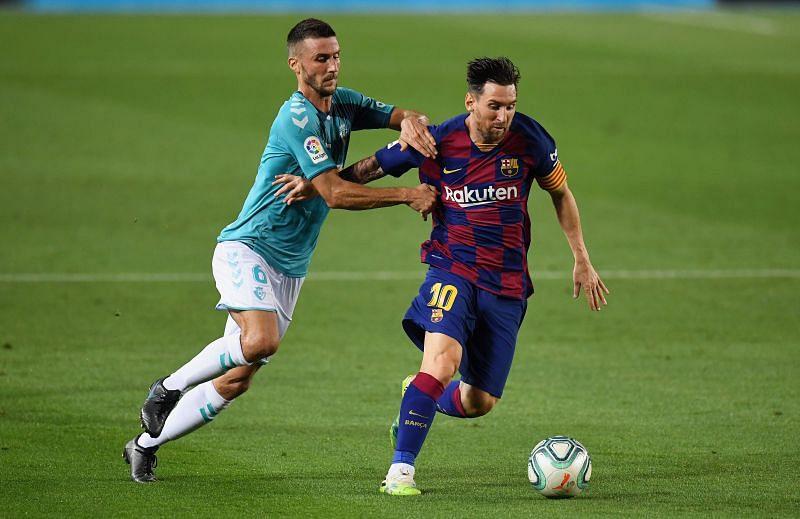 Barcelona take on Osasuna this weekend