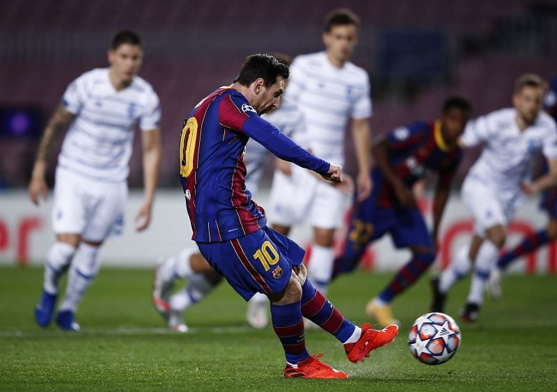 Messi has been left out of the Barcelona team to take on Dynamo Kyiv this week
