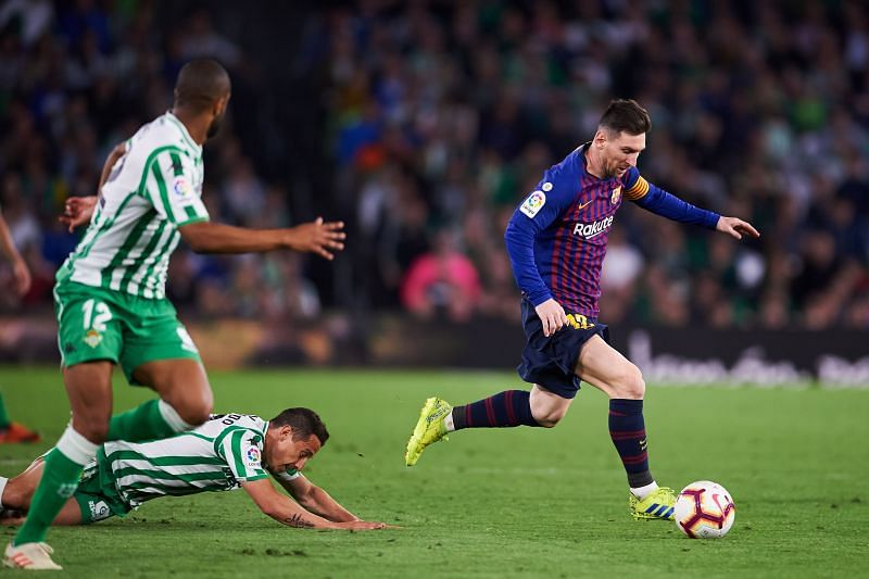 Barcelona take on Real Betis this weekend