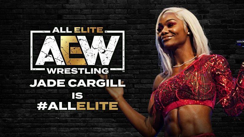 AEW has confirmed the signing of Jade Cargill