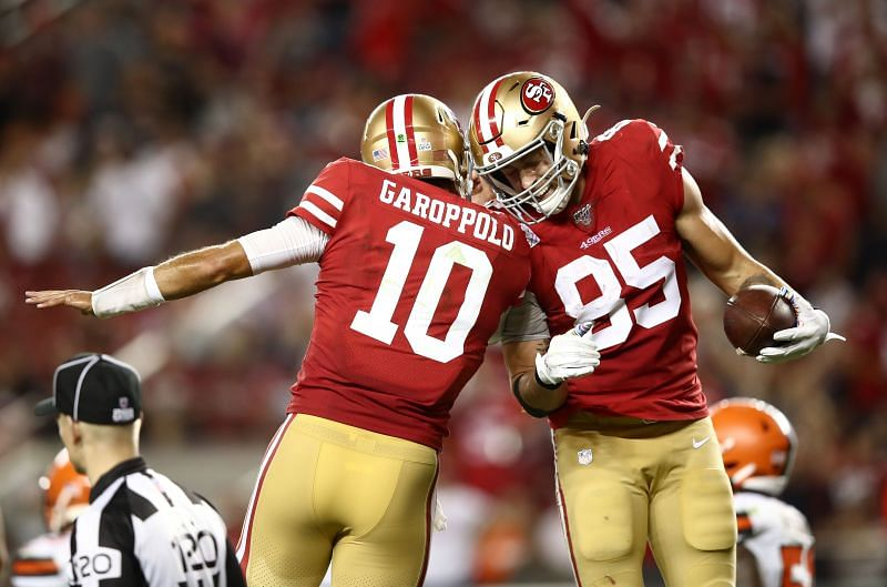 The 49ers are going to be without two big pieces to their offense