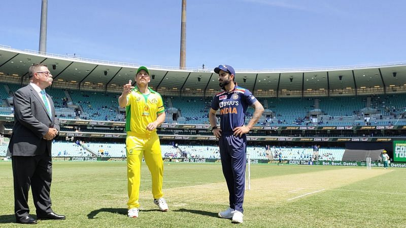 Aaron Finch got it right from the toss as his team made India pay on a flat pitch.