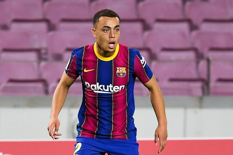 Sergino Dest has already impressed for Barcelona this season.