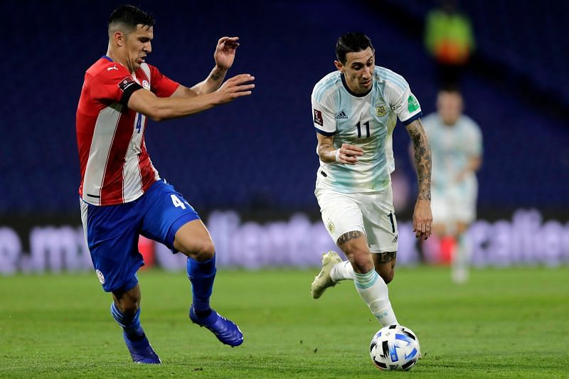 Argentina draw 1-1 against Paraguay in the World Cup qualifiers