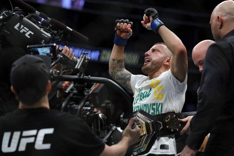 UFC featherweight champion Alexander Volkanovski