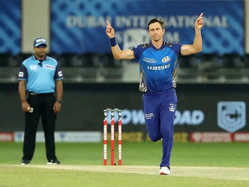 Trent Boult was absolutely sensational in his opening spell, but had to be taken off the field due to groin strain