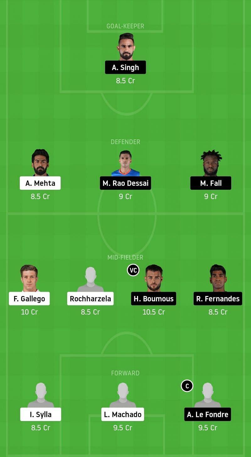 NorthEast United FC vs Mumbai City FC Dream11 Fantasy Football Tips