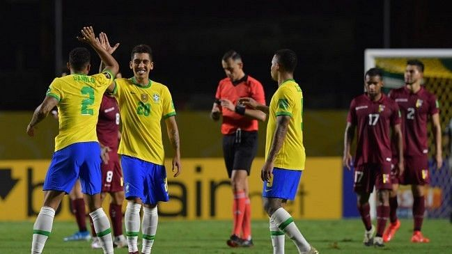 Brazil beat Venezuela to maintain a 100% start to the qualifying campaign