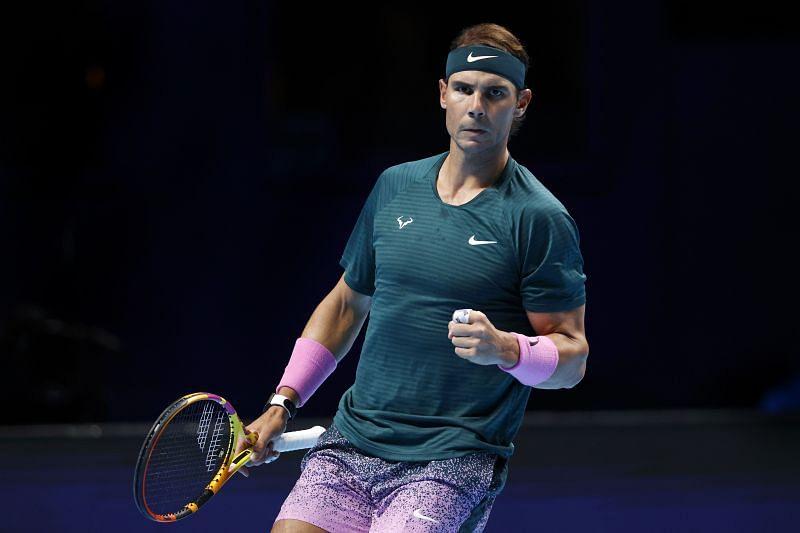 Rafael Nadal had defeated Rublev 6-3, 6-4