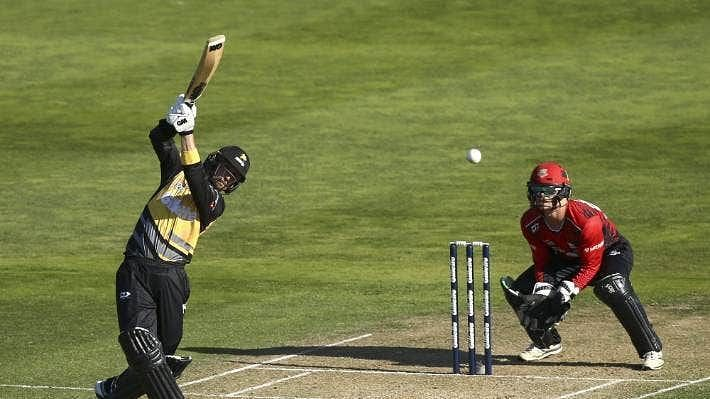 Devon Conway(L) is likely to make his debut for New Zealand