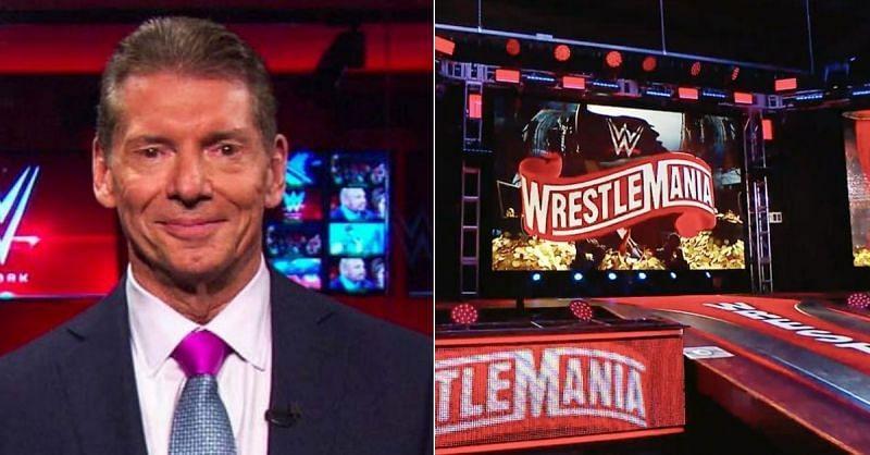 Vince McMahon; WrestleMani