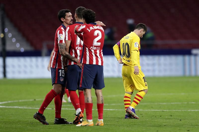 Atletico Madrid outplayed Barcelona tonight