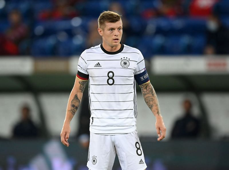 Germany and Real Madrid maestro Toni Kroos