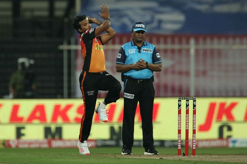 T Natarajan had an excellent IPL 2020 season playing for the Sunrisers Hyderabad.