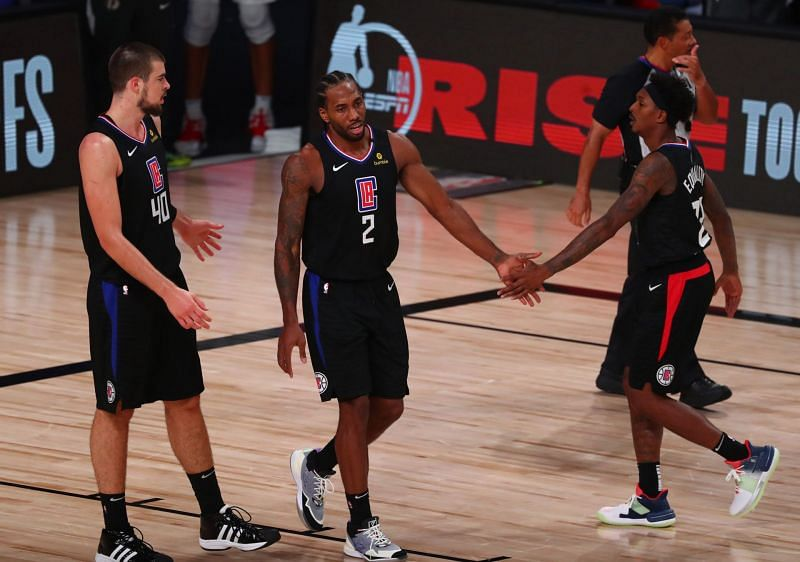LA Clippers in the 2020 NBA playoffs